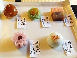 6上生菓子@茶寮・宝泉