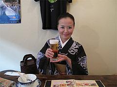 その他:生ビールとあたし@ベトナムカフェ&レストラン・ゴンゴン