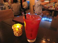 カフェバー:トマトジュース@cafe tempo(カフェ・テンポ)・今泉・天神