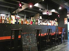 店内:カウンター@白金玄歩・居酒屋・薬院