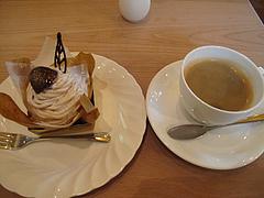 料理:ケーキセット@レーブ・ド・ベベ・小郡