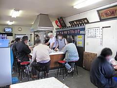 1店内:カウンター・テーブル@一九ラーメン・老司本店