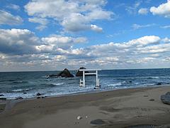 夫婦岩@カフェレストラン二見ヶ浦 ・糸島