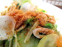 19ランチ:桜海老のパスタ・ペペロンチーノ@食堂シェモア・フレンチ・イタリアン・洋食