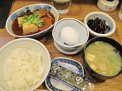 10ランチ:肉豆腐定食590円@わっぱ定食堂・天神・今泉