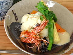 料理:野菜@茶房わらび野