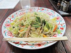 13ランチ:皿うどん600円@カフェくうねる・別府・茶山