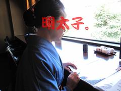 店内:カウンター@元祖博多めんたい重・西中洲