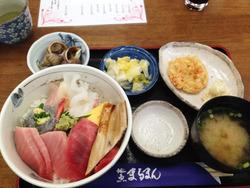 4中トロ海鮮丼@地魚まるまん