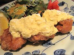 11ランチ:地鶏チキン南蛮(阿波尾鶏)@キッチン良い一日・長尾店