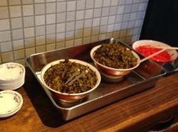 6高菜と紅しょうが@火の国文龍・総本店