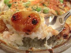 料理:栗・サツマイモドリアの栗@フォワイエ ドュ ばん・天神