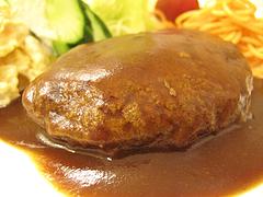 9ランチ:ハンバーグ定食@定食の味作食堂
