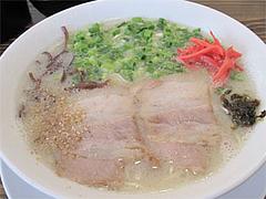料理:らーめん500円@らぁめん39番地・大橋