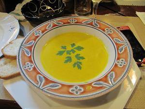 13かぼちゃのスープ@びすとろまん坊