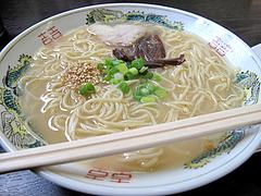 料理:ラーメンセットのラーメン@山ちゃん・ちゃんぽん