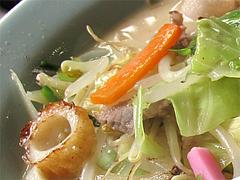 料理:チャンポン具@白雲軒・福岡