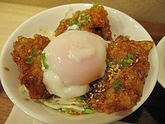 9ランチ:から揚げ丼ミニ@唐揚げ・みつせ鶏本舗・新天町・天神