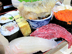 料理:すし定食のにぎり2@ランチ・鮨あつ賀