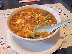 13ランチ:サンラータンメン酸辣湯麺780円@中華・華風・福壽飯店・大名