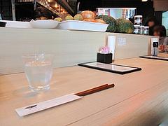 4店内:カウンター席@チャンポン専門店・ヌードルキッチン・ウツツヤ(現屋)・天神ビブレ
