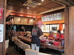 店内:テーブル席@博多一風堂・塩原本舗・福岡