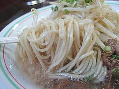 6ランチ:博多豚骨ラーメン麺@博多龍龍軒・祇園店