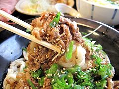 ランチ:肉ぶっかけうどん食べる@カラフル食堂・住吉店