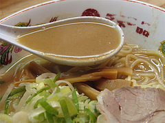 料理:天一のこってりスープ@天下一品・博多駅前店