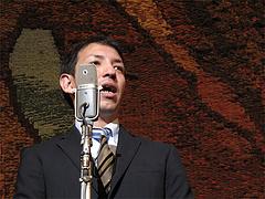 鳩山二郎氏@民謡・端唄の会