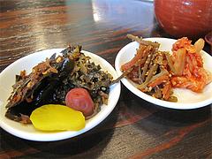 10ランチ:漬物・惣菜取り放題@博多ラーメン123・春日