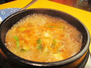 8味噌チゲ@チェおばさんのキムチ