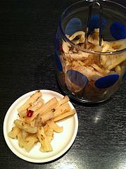 6ランチ:大根の漬物@居酒屋しょうき・長住店