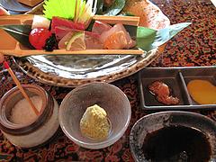 料理:糸島旬魚・五種盛り逢わせ@僧伽小野・糸島
