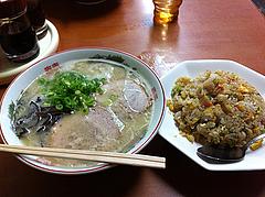 ランチ:チャーハンセット650円@麺篤屋ラーメン
