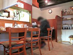 店内:カウンター席@らーめん亭・福岡魂・六本松