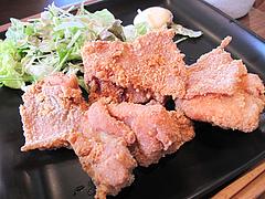 10ランチ:唐揚げ@baby's cafe(ベイビーズカフェ)・ドッグカフェ