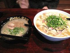 10ランチ:ラーメンとちゃんぽん@麺倶楽部・居酒屋げんき・春吉