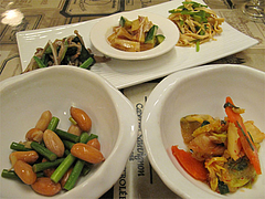 5夜:前菜の盛り合わせ@マルコキッチン・中華・天神