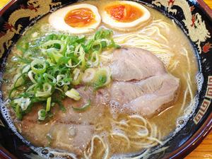 14ラーメン550円+煮玉子120円@ラーメンかい