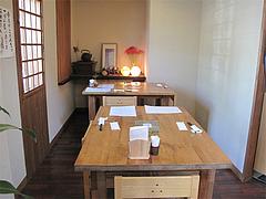 2店内:テーブル席@和食・四季菜・益々・小郡