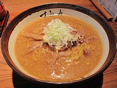 7ランチ:味噌ラーメン800円@札幌味噌ラーメン・すみれ・博多店