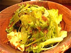 定食のサラダ@泰元食堂・福岡市中央区赤坂