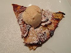 17夜の食事:デザートピザ@La Terra(ラ・テッラ)・イタリアン・七隈