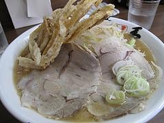 料理:ラーメン(ゴボウ)720円@博多麺業・島系・春吉店