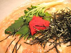料理:明太おうどんの具@かほうや・うどん・赤坂