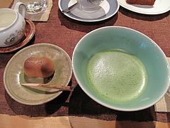料理:抹茶・和菓子セット500円@夢空間はしまや・カフェ・倉敷