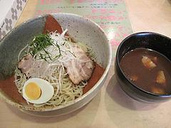 料理:つけ麺(普通盛)600円@一龍・小倉駅前