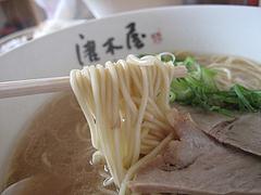 9ランチ:博多ラーメン卵麺@博多ラーメン・唐木屋・七隈店