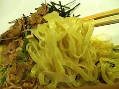 料理:肉そば特製平打ち麺@肉そば・喰海・つけ麺・天神